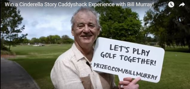 Golf With Bill Murray